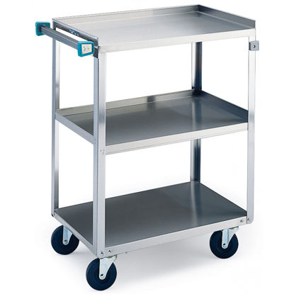 Picture of EA - CL-100 - Stainless Steel Lab Cart w/ 3 Shelves (CL100)