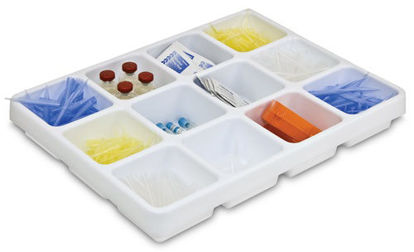 """Picture of EA - LC-055 - Pipet Drawer Organizer, 17"""" x 2.5"""" x 13"""" (LC055)"""