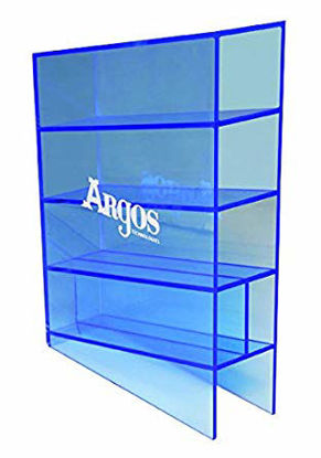Picture of EA - AR-500 - Blue-Tinted Acrylic Rack for Disposable Pipets (AR500)