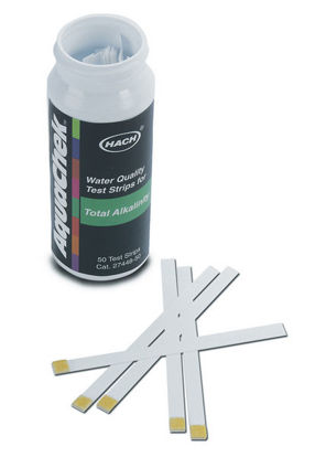 Picture of PK(50/pk) - H-27448-50 - Total Alkalinity Test Strips (H2744850)