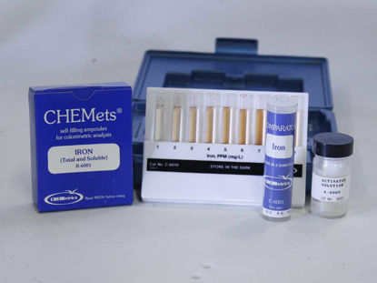 Picture of KIT - CK-6010 - CHEMets® Iron, Total, Kit, 0-10.0 ppm (CK6010)