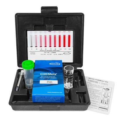 Picture of KIT - CK-6904 - CHEMets® Nitrate Kit, 0-5.0 ppm (CK6904)