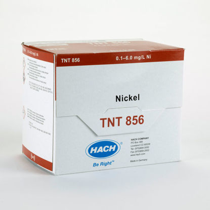 Picture of PK(25/pk) - H-TNT856 - Nickel TNTPlus Vial Test, 0.1-6.0 mg/l  (HTNT856)