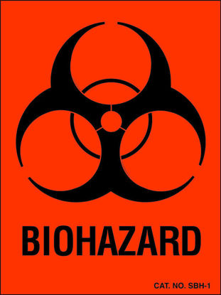 Picture of RL(500/rl) - HL-100 - Biohazard Label (HL100)