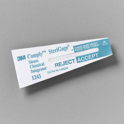 Picture of ST-1243 - 3M Comply SteriGage Steam Chemical Integrator Sterilization Indicators (ST1243)