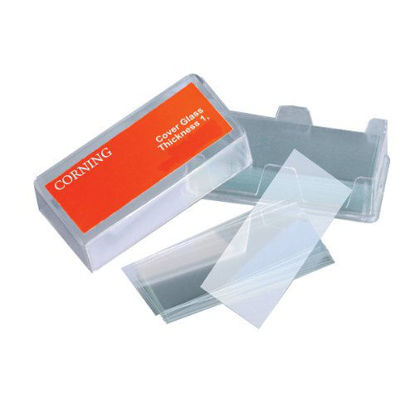 Picture of BX(1oz/bx) - M-215 - No. 1 Glass Slide Covers, 24 mm x 50 mm (M215)