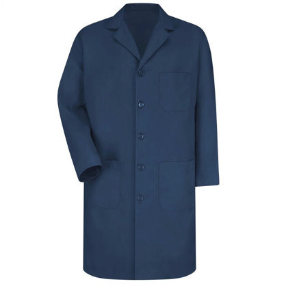 Picture of EA - LCN-3XL - Lab Coat, Navy Blue, Size 3XL (LCN3XL)
