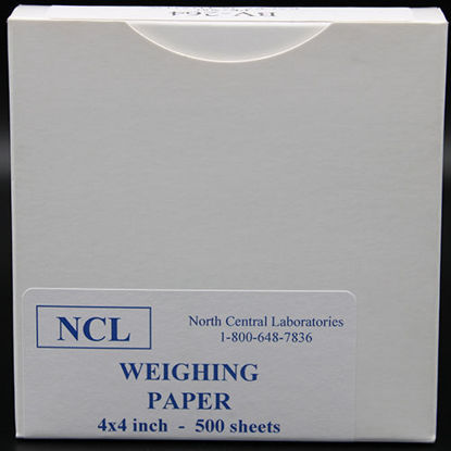 "Picture of PK(500/pk) - BV-264 - 4"" x 4"" Weighing Paper (BV264)"