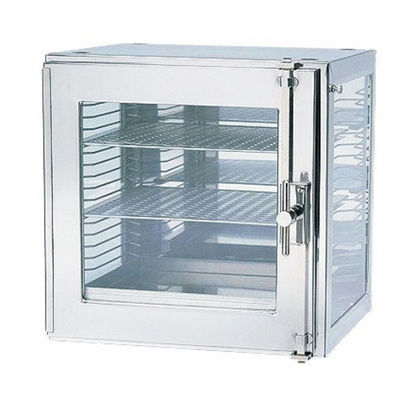 "Picture of EA - DB-1340 - Small Metal Desiccator Cabinet w/ 2 Flexboard Shelves, 12½"" x 12¼"" x 12¼"" (DB1340)"