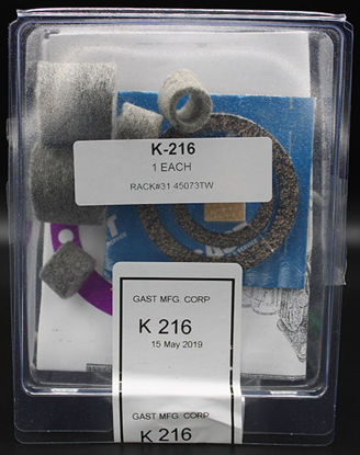 Picture of EA - K-216 - Repair Kit for Gast ⅙ and ⅛ HP Vacuum Pump (K216)