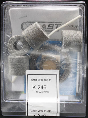 Picture of EA - K-246 - Repair Kit for Gast ⅓ and ¼ HP Vauum Pumps (K246)