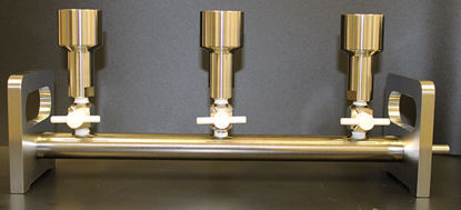Picture of EA - MS-531 - Stainless Steel 3-Place Filter Manifold (MS531)