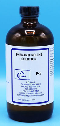 Picture of PT - P-5 - Phenanthroline Solution, APHA for Iron (P5)