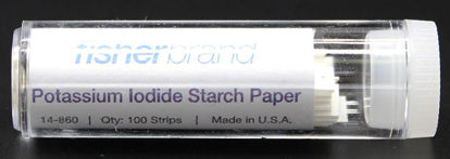 Picture of EA - TL-103 - Vial (100) Starch-Iodide Test Paper (TL103)