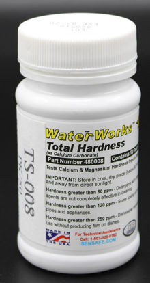 Picture of PK(50/pk) - TS-008 - Total Hardness Test Strips, 40-1000 ppm (TS008)