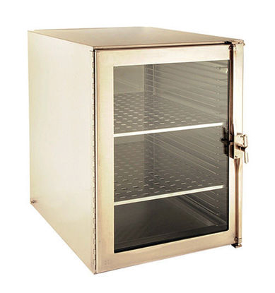 "Picture of EA - DB-1344 - Large Metal Desiccator Cabinet w/ 2 Stainless Steel Shelves, 16½"" x 23"" x 22¼"" (DB1344)"