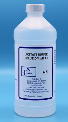 Picture of A-5 - Acetate Buffer, pH 4.0, APHA for Chlorine (A5)