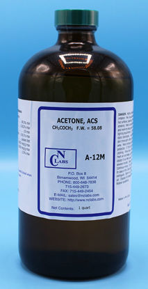 Picture of A-12M - Acetone, ACS (A12M)