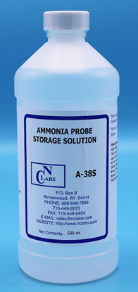 Picture of 500 ml - A-38S - Ammonia ISE Storage Solution for Use w/ HP Ammonia ISE (A38S)
