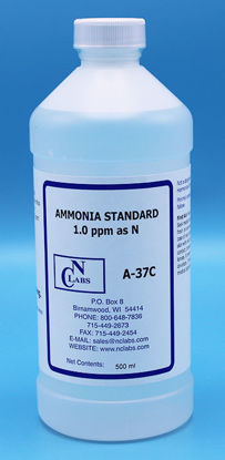 Picture of A-37C - Ammonia Standard, 1.0 ppm as N (A37C)