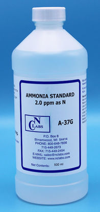 Picture of A-37G - Ammonia Standard, 2.0 ppm as N (A37G)