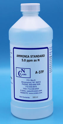 Picture of A-37F - Ammonia Standard, 5.0 ppm as N (A37F)