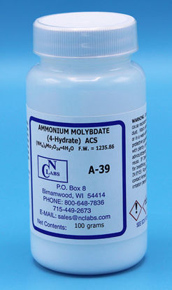 Picture of A-39 - Ammonium Molybdate, 4-Hydrate, ACS (A39)