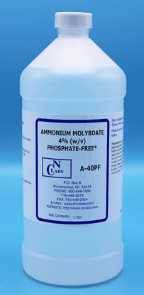 Picture of LTR - A-40PF - Ammonium Molybdate, 4%, Certified Phosphate-Free (A40PF)