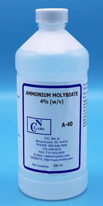 Picture of A-40 - Ammonium Molybdate, 4% (w/v), APHA for Phosphate (A40)