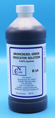 Picture of B-14 - Bromcresol Green Indicator Solution, 0.04% Aqueous (B14)