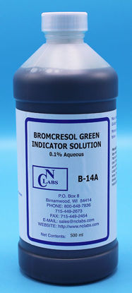 Picture of B-14A - Bromcresol Green Indicator Solution, 0.1% Aqueous (B14A)