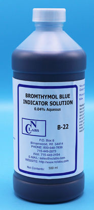 Picture of B-22 - Bromothymol Blue Indicator Solution, 0.04% Aqueous (B22)