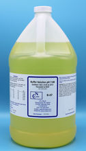 Picture of 3.8 LTR - B-47 - pH Buffer Solution, pH 7.00, Yellow-Coded (B47)