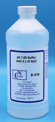Picture of 500 ml - B-47A - Ammonia ISE pH Buffer Solution, pH 7.00, w/ 0.1 M NaCl (B47A)