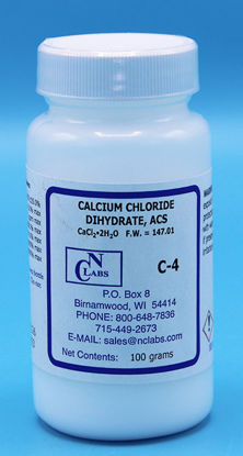 Picture of 100 g - C-4 - Calcium Chloride Dihydrate, ACS (C4)