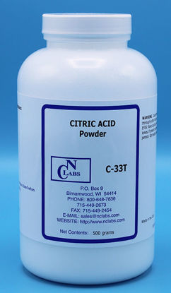 Picture of 500 g - C-33T - Citric Acid, Powder, Technical Grade (C33T)
