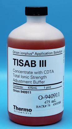 Picture of 475 ml - O-940911 - TISAB III Buffer for Use w/ Fluoride ISE, APHA for Fluoride (O940911)