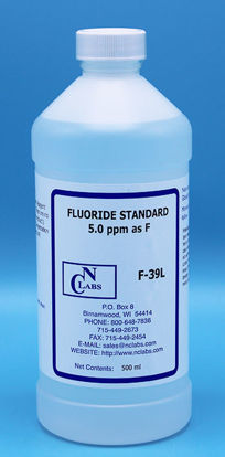 Picture of F-39L - Fluoride Standard, 5.0 ppm (F39L)
