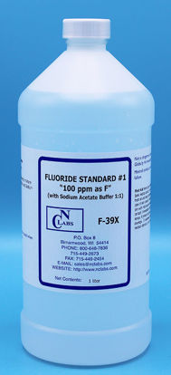 "Picture of LTR - F-39X - Fluoride Standard #1, ""100 ppm as F"" w/ Buffer (F39X)"
