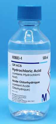 Picture of H-9 - Hydrochloric Acid, ACS, Concentrated (H9)