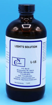 Picture of PT - L-15 - Light's Solution, APHA for ORP (L15)