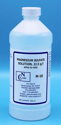 Picture of M-10 - Magnesium Sulfate Solution, 22.5 g/l, APHA for BOD, BOD Nutrient (M10)