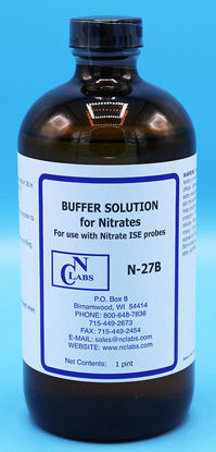 Picture of N-27B - Nitrate ISA Buffer for Use w/ Nitrate ISE, APHA for Nitrate (N27B)