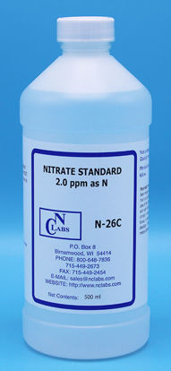 Picture of N-26C - Nitrate Standard, 2.0 ppm as N (N26C)