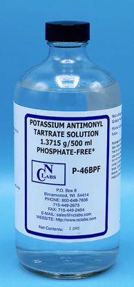 Picture of PT - P-46BPF - Potassium Antimonyl Tartrate Solution, Certified Phosphate-Free (P46BPF)