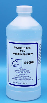Picture of S-90DPF - Sulfuric Acid, 13 N, Certified Phosphate-Free (S90DPF)