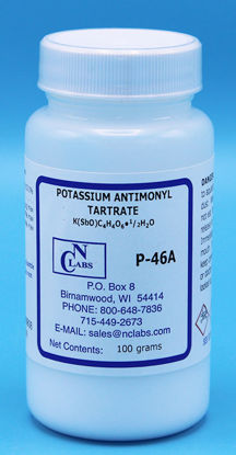 Picture of P-46A - Potassium Antimonyl Tartrate (P46A)