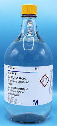 Picture of S-89A - Sulfuric Acid, ACS, in Safe-Mor Bottle (S89A)