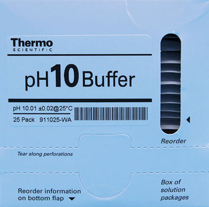 Picture of PK(25/pk) - O-911025 - pH Buffer Packets, pH 10 (O911025)