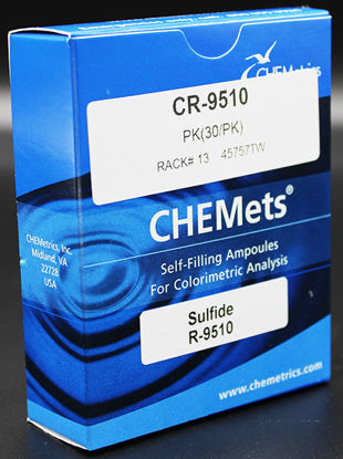 Picture of PK(30/pk) - CR-9510 - CHEMets® Sulfide Refill Ampules (CR9510)